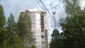 Hammars vattentorn renoveras.