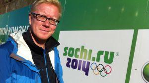 Robert Portman, projektledare för OS i Sotji.