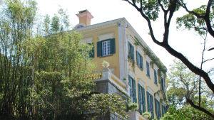 Gull villa i Hongkong.