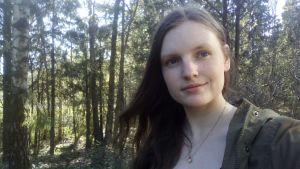 Bild på studerande Christina Elgert.