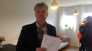 Christoffer von Schantz, bostadsförmedlare Aktia