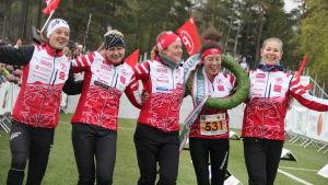 Tampereen Pyrintö vann Tiomila 2019.