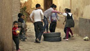 uigurer, Xinjiang