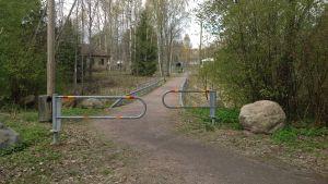 Gång- och cykelväg i Sjundeå