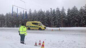 Ambulans på Kemora i Vetil