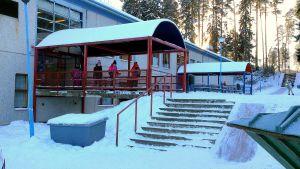 skolbyggnad i Borgå
