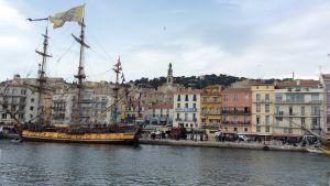 Sète, maalauksellinen merikaupunki Etelä-Ranskassa viettää meripäiviään 2016.
