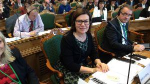 Britt Lundberg i Nordiska rådet