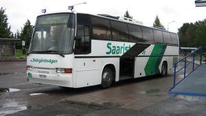 Skärgårdsvägens buss vid Pargas busstation