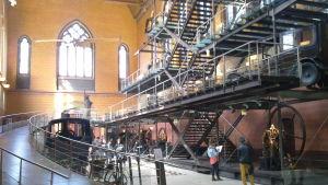 Museum för teknik, gamla maskiner, vetenskap