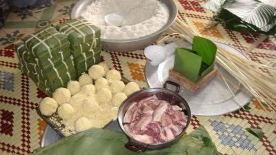 Banh chung, vietnamesiska riskakor