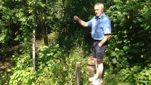 Håkan Karlsson planerar muddring i Lovisa å