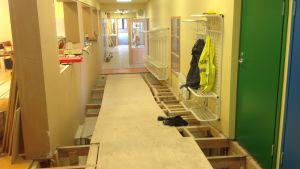 Merituulen koulu i Ingå renoveras