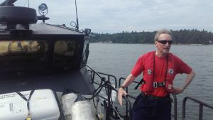 Kaj Johansson är däcksman och styrman på båten PV Rautauoma