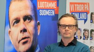 Verksamhetsledare för Samlingspartiet i Egentliga Finland Juha Rantasaari