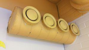 Luftkonditioneringen i Näse skola