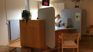 Anmälningen vid Östra hälsostationen