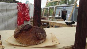 Scoutlägret Roihu har ett eget bageri