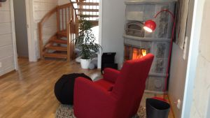 Päivänsäde (nr 26) på bostadsmässan i Kalajoki 2014