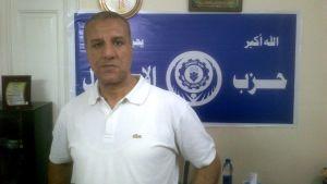 Ashraf Omran är en i gruppen som arbetar för frisläppandet av avsatte presidenten Mursi.