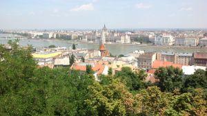 Kaupunkikuva Budapestista