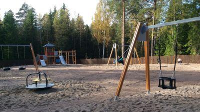 Ny lekpark i Isnäs