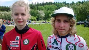 Ida-Marie Cederberg och Amy Nymalm.
