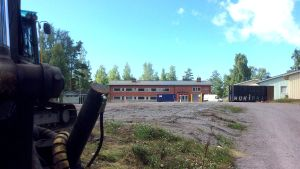 Här ska den nya skolan byggas.