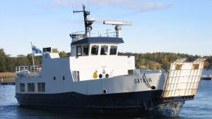 M/S Satava i Väståboland