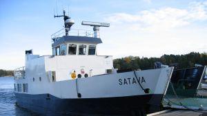 m/s Satava, Väståboland