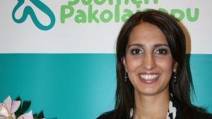 Årets flyktingkvinna Nasima Razmyar