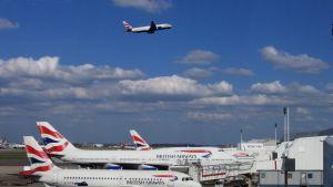 British Airways-flyg på Heathrow