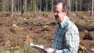 Greger Erikslund, viceordfröande för Föreningen för skogskultur