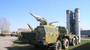 Det ryska luftvärnssystemet S-300.