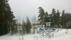Konstpälstillverkaren Finnpile vid riksväg 25 i Gebbelby i Ekenäs.