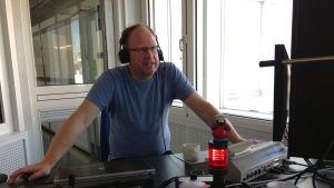 Peter Lüttge, kulturjournalist och vän av tysk fotboll.