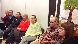 Sju representanter för de anställda var med då Karleby började samarbetsförhandla.