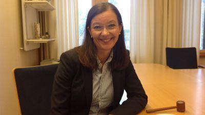 Bildningsdirektör Kastri Kalske i Lojo