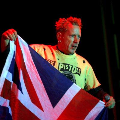 Johnny Rotten från Sex Pistols
