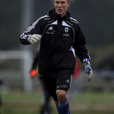 Otto Fredrikson under ett träningspass i Portugal i mars 2011.