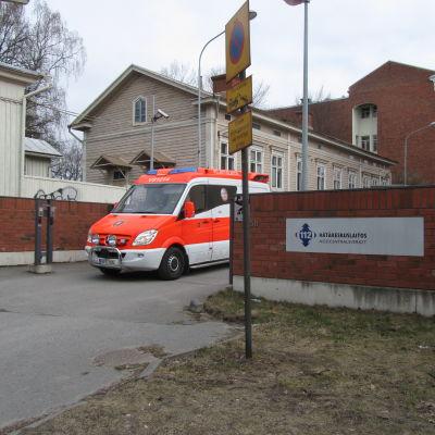 Nödcentralen i Åbo.