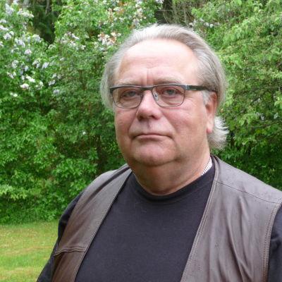 Benny Uhlenius i sin gård i Fagervik, Ingå