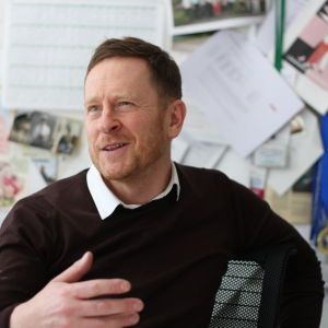 Niklas Wahlström är rektor för Gymnasiet Grankulla samskola.