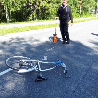 Poliisi tutkii onnettomuutta