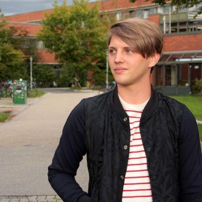 Sebastian Sommerer, ung kandidat i det tyska förbundsdagsvalet  2017.