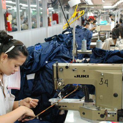 Klädfabrik i Taiwan