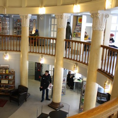 berghälls bibliotek i helsingfors
