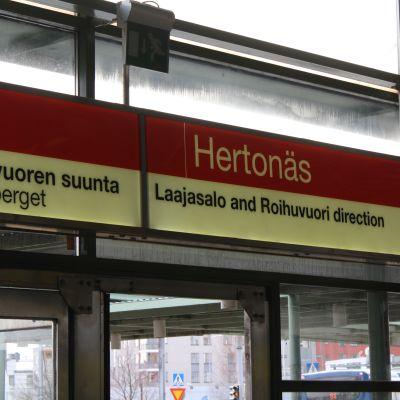 hertonäs metro