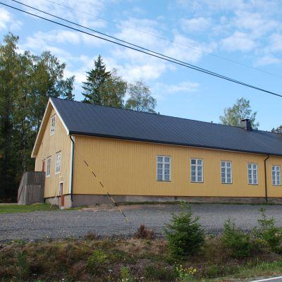 Målmåsa föreningshus i Prästkulla