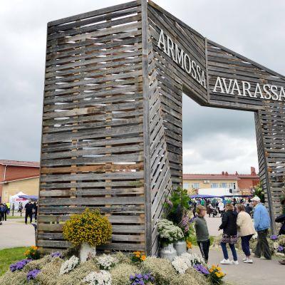 Nivalan herättäjäjuhlat järjestettiin Kyösti Kallion koulun ympäristössä.